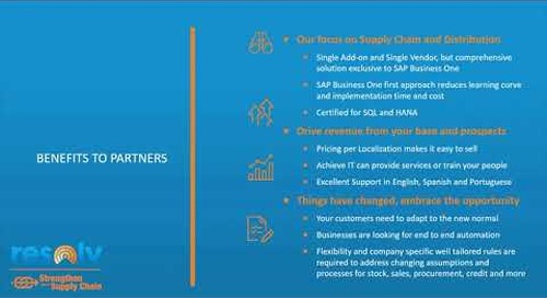 Resolv for SAP Business One Partners
