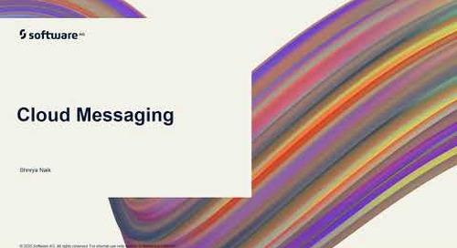 Cloud Messaging | webMethods.io Integration Tutorials