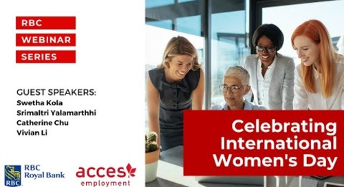 RBC Royal Bank Webinar | Celebrating International Women's Day