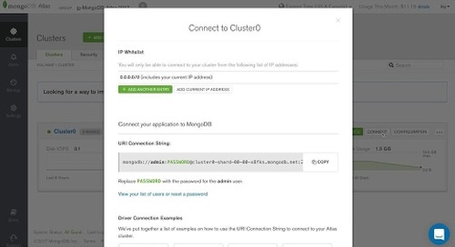 [Tutorial] Finding and using your MongoDB Atlas connection strings