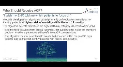 Advance Care Planning in Accountable Care Organizations