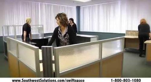 Swing Space Office Furniture Rolling Desks Mobile Workstations