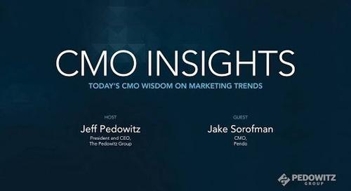 CMO Insights: Jake Sorofman, CMO of Pendo