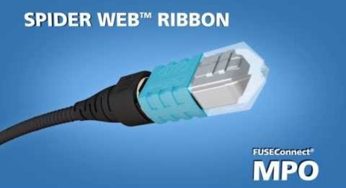 Demo of our Spider Web™ Ribbon (SWR) with FUSEConnect® MPO