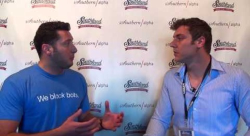 Live Interview with Southern Alpha at Southland Summit & Rami Essaid with Distil Networks