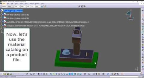 CATIA Tip: Developing your own custom material library.