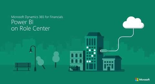 Power BI with Dynamics 365 for Finance & Operations, Business edition