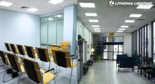 GTLED 2'x2' LED Lay in Troffer from Lithonia Lighting - Why Buy LED?