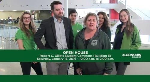 Algonquin College Winter Open House