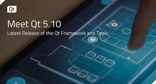 Meet Qt 5 10 – Latest Release of the Qt Framework and Tools {on-demand webinar}