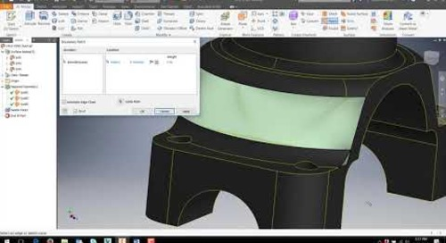 Repairing Imported Surface Models in Inventor