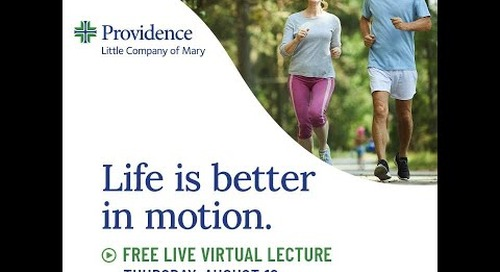 PLCM Life is Better in Motion Community Lecture