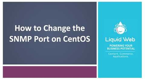How To Change the SNMP Port on CentOS