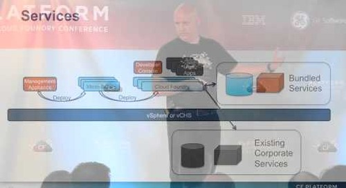 Operating Cloud Foundry on vSphere (Platform: The Cloud Foundry Conference 2013)