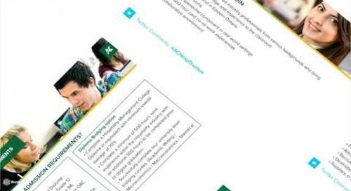 Bachelor of Hospitality and Tourism Management Webinar - Algonquin College