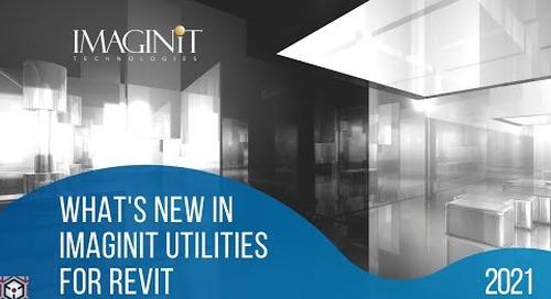 What's New IMAGINiT Utilities for Revit 2021