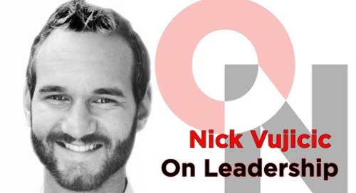 The Most Important Part of Life | Nick Vujicic | FranklinCovey Clip