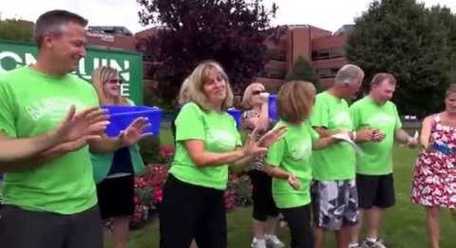 Algonquin College President's Council ALS Ice Bucket Challenge