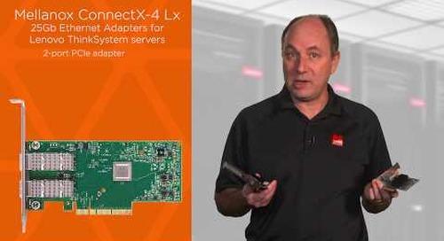 Lenovo Mellanox ConnectX-4 Lx Adapters