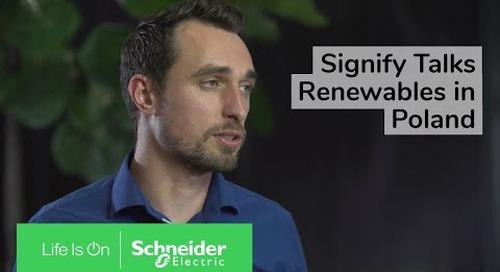 Signify & Schneider Electric Talk Renewables in Poland