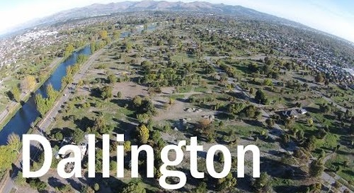 Dallington Then and Now - A Drone's Eye View