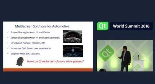 QtWS16 Inspiration Spotlight: Anupam Kaul, LG, Keynotes