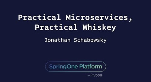 Practical Microservices, Practical Whiskey - Jonathan Schabowsky