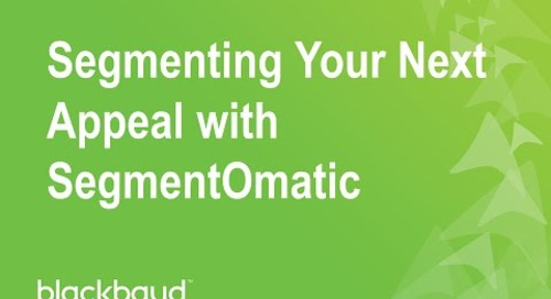 Segmenting Your Next Appeal with SegmentOmatic