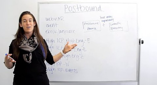 What Do You Do With Postbound Leads? (Webinar, Event, eBook, and MQLs) (ft. Becc Holland)