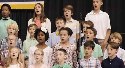 Sing to God with Songs of Joy • Trinity School's 23rd Annual Grandparents and Special Friends Day