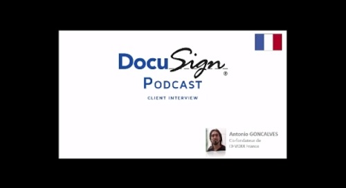Podcast : Antonio Goncalves utilise la signature électronique DocuSign pour ses contrats Devoxx