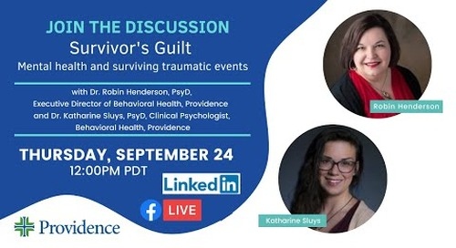 Survivor's Guilt: Mental health and surviving traumatic events