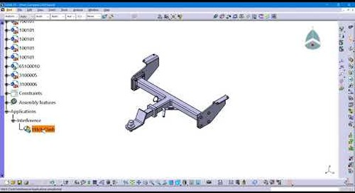 CATIA V5: Clash Analysis Break Down