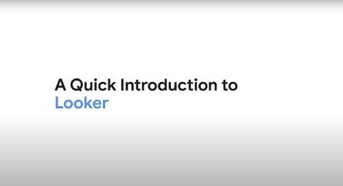 Looker Demo Video