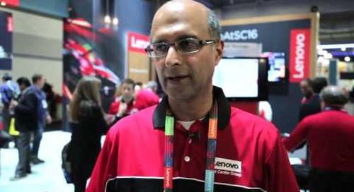 Lenovo's Vinod Kamath on supercomputing - at SC16