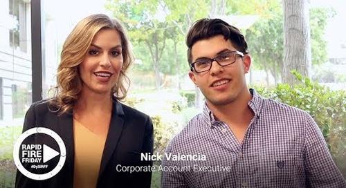 Rapid Fire Friday : Nick Valencia