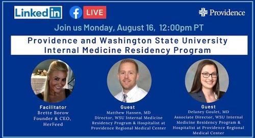 Providence and Washington State University Internal Medicine Residency Program