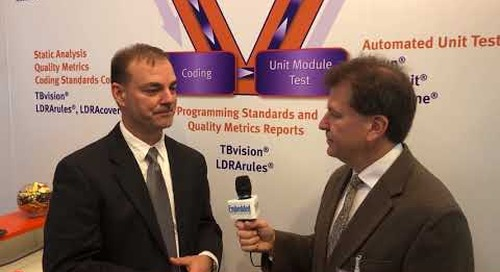 LDRA at Embedded World 2018 Booth 4-509