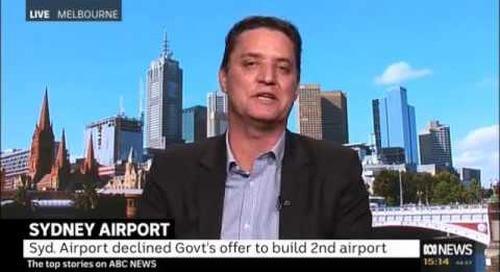 Western Sydney Airport - Interview with Matt Coetzee, ABC News