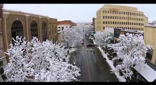 Wet Feb Snow