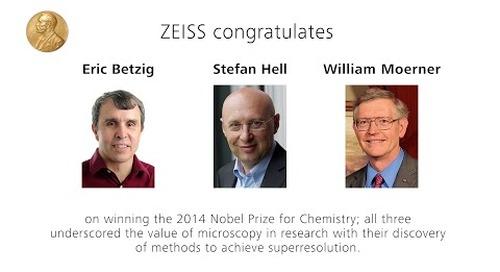 ZEISS ELYRA: 2014 Nobel Prize in Chemistry for Superresolution Microscopy Methods
