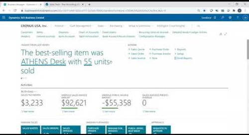 Filtering Records in Dynamics 365 Business Central