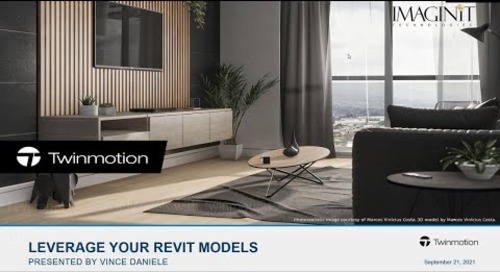 Leverage your Revit Models with Twinmotion