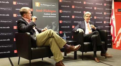 Secretary John Kerry on Climate Change and U.S. Foreign Policy