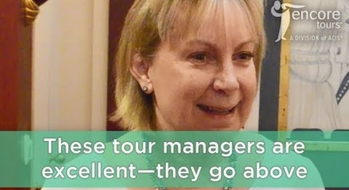 #WhyEncore: Our Knowledgeable Tour Managers