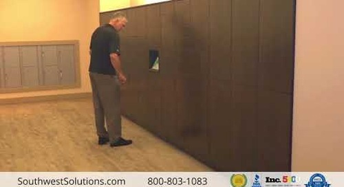 Smart Delivery Lockers with 24/7 Keyless Drop-Off & Pick-Up