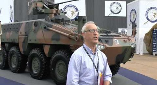 AAD 2016: Paramount Mbombe 6 and 8 infantry fighting vehicles