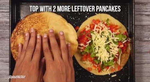 How to Make Pancake Quesadillas