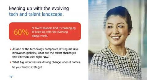 how Ericsson drives recruitment transformation | Talent Navigator Webinar.