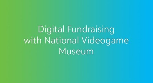 COVID-19: Digital Fundraising with National Video Game Museum